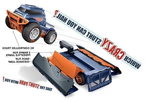 Hot Wheels R/c Truck Stunt Vehicle