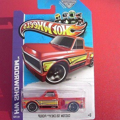 red custom 69 chevy pickup 2013 hw