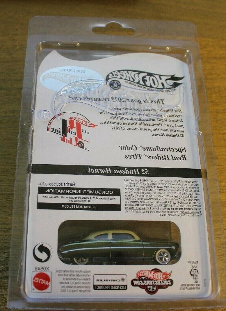 Hot Wheels Rewards Car Hudson Hornet Spectraflame Color