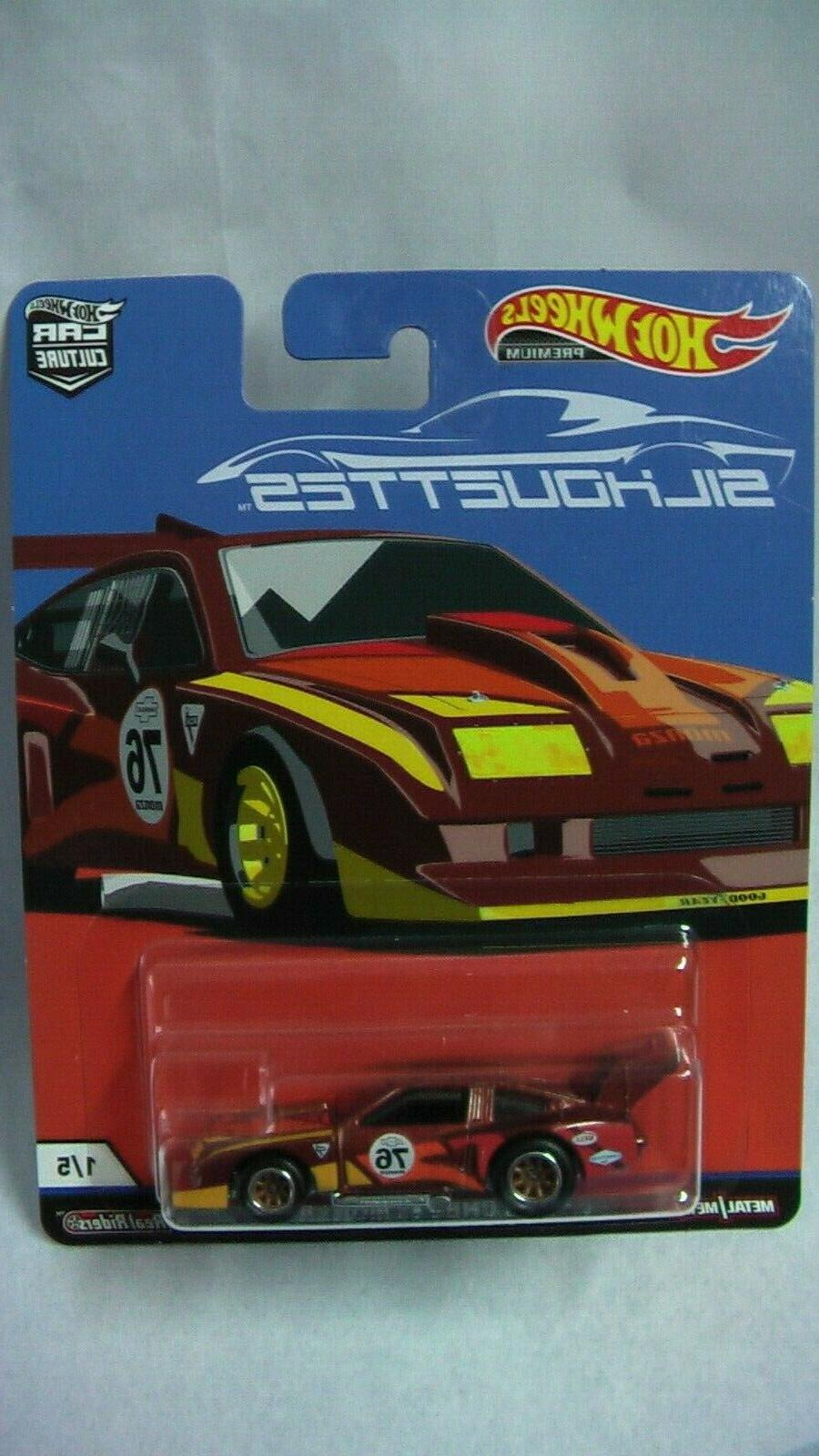 HOT WHEELS SILHOUETTES 10 SKYLINE RWB CORVETTE MONZA NEW
