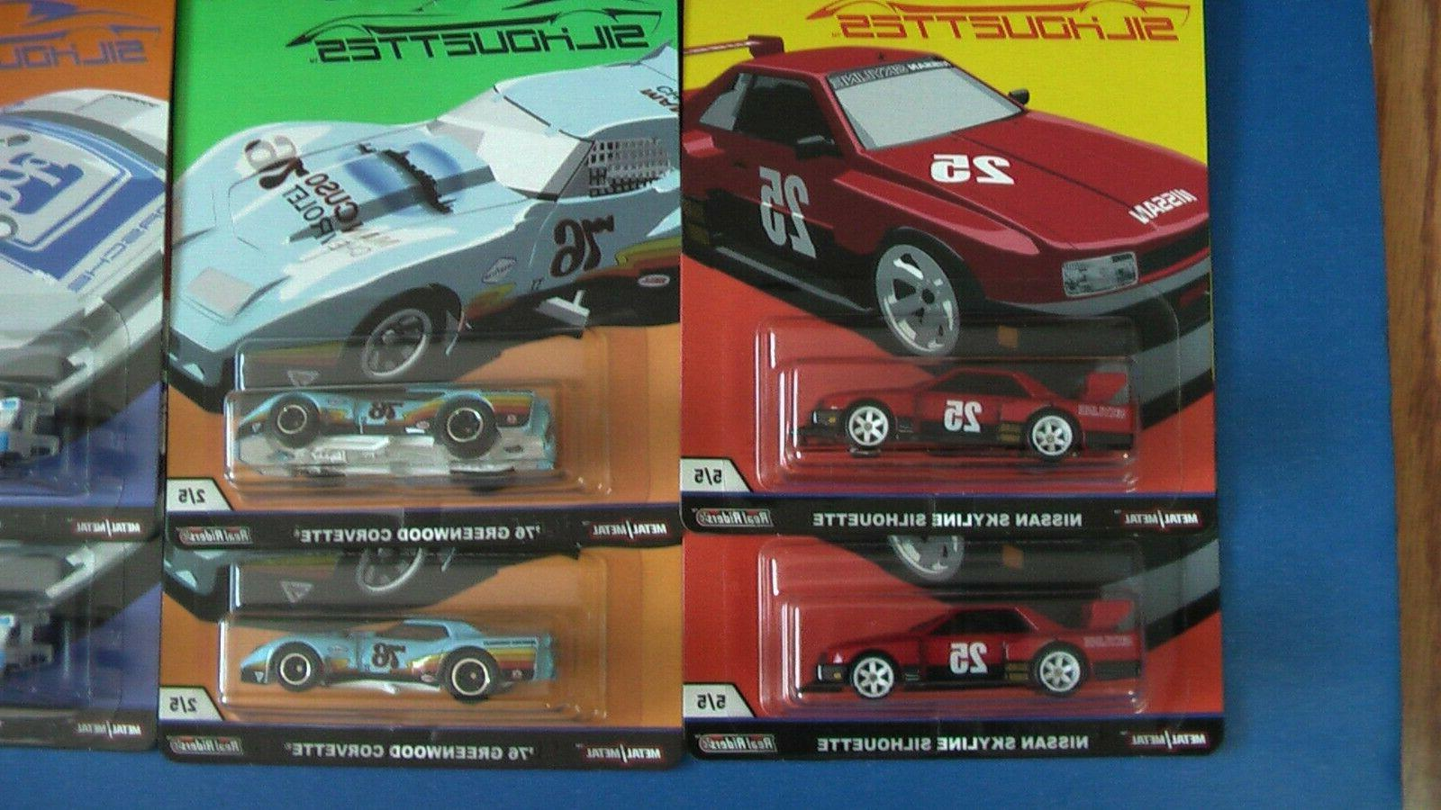 HOT SILHOUETTES CASE 10 SKYLINE CORVETTE NEW