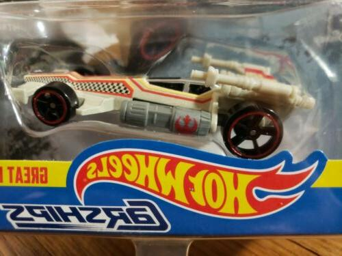 Hot Wheels Star Wars Die Cast Carships X-Wing Fighter Great
