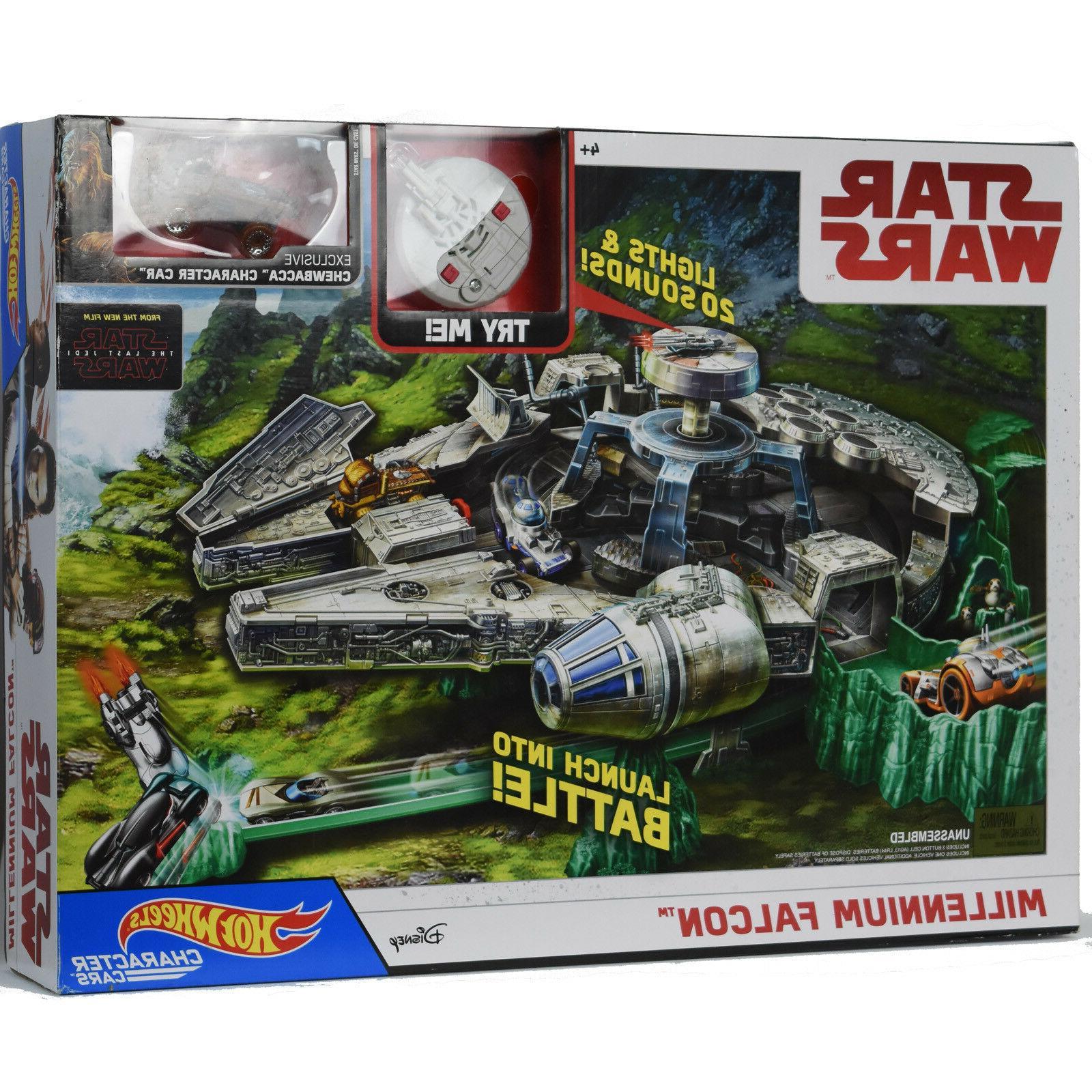 star wars millennium falcon playset