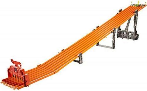 super 6 lane raceway set