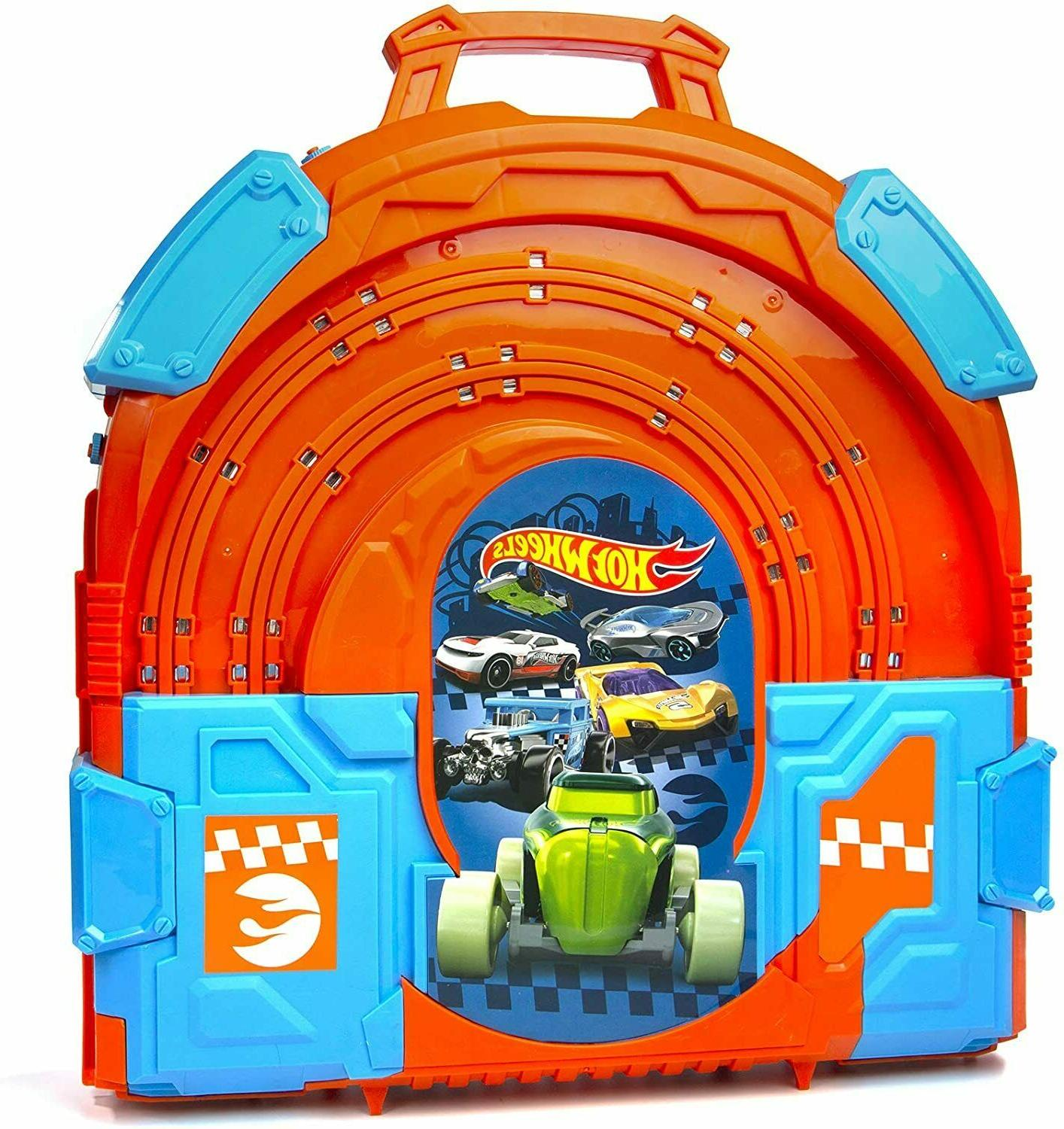 Hot Wheels Track - Slot Track Carrying Case feet