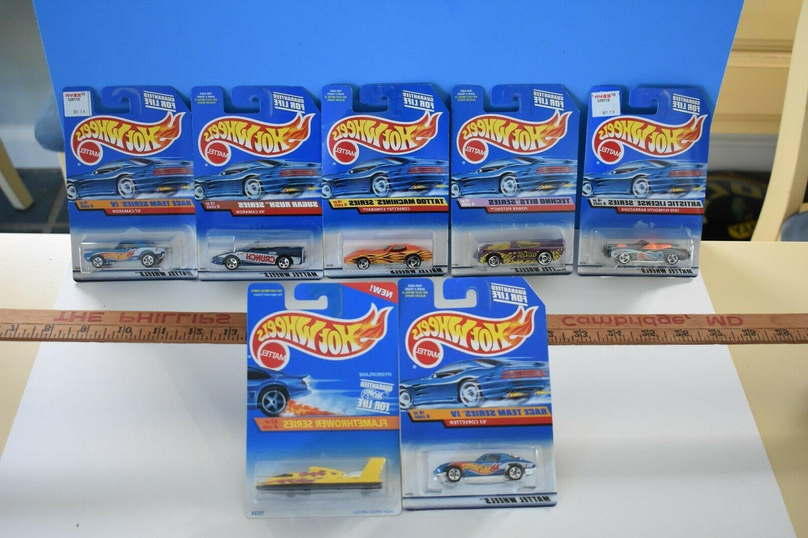 vintage lot of 7 series cars