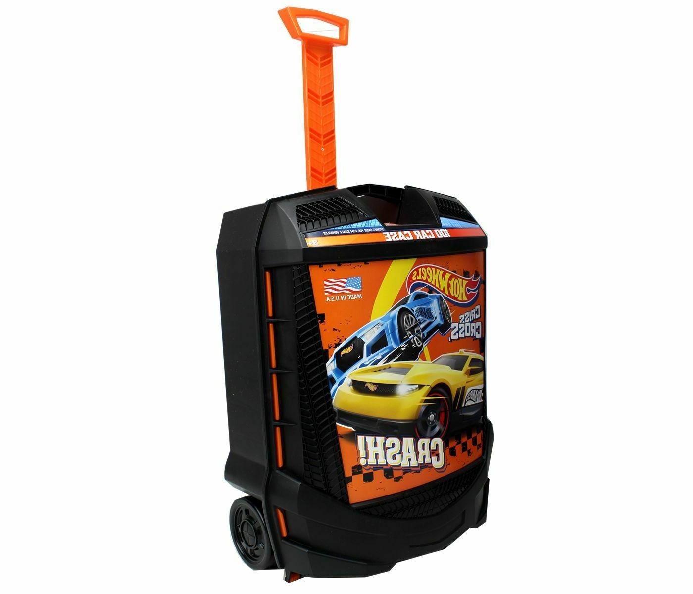 New Hot Wheels Carry Case 100 Car Storage Organizer Travel T