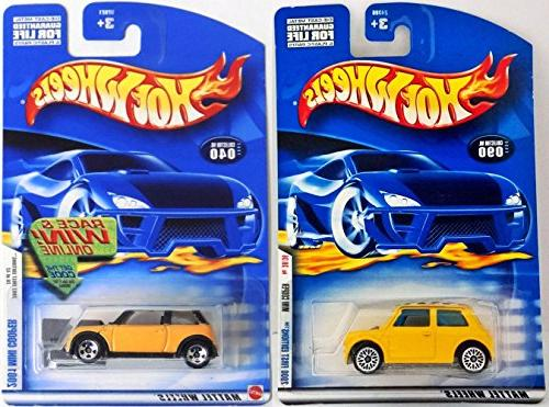 wheels mini coopers 2000 2001