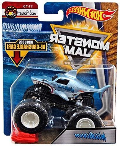 wheels monster jam megalodon