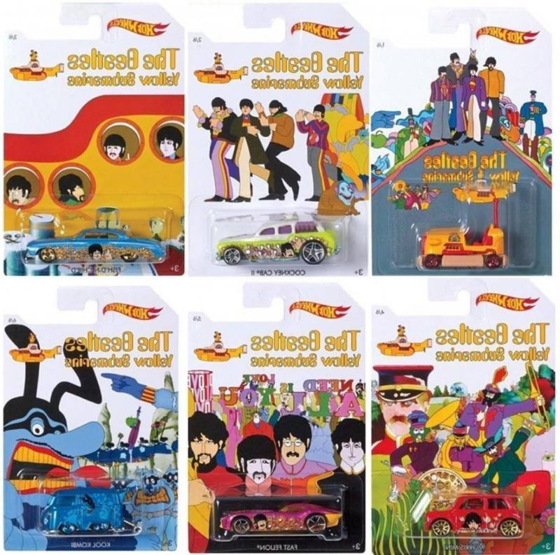 Hot Wheels - The Beatles Limited Set of 6 Diecast