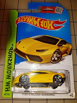 Hot Wheels Lamborghini Huracan LP 610-4 Yellow HW Workshop