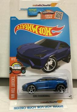 Lamborghini URUS #142 * BLUE * 2016 Hot Wheels * E2