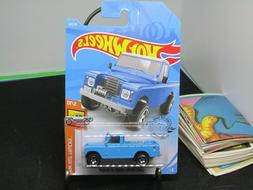 Land Rover Series III Pickup #111 Blue 2019 Hot Wheels Case