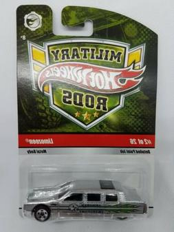 Hot Wheels Limozeen Military Rods #2 of 26 New in Package Si