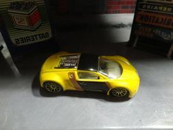 Loose Mint Hot Wheels Yellow Bugatti Veyron w/Gold 10 Spoke