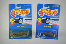 HOT WHEELS  LOT OF 2   BLUE CARD COLLECTOR #   255  BMW  850