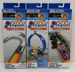 Lot of 3 Kits HOT WHEELS Track Builder System Curve, Launche