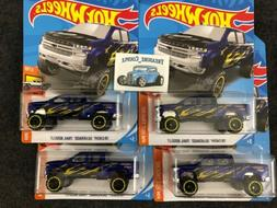 LOT of 4 - Hot Wheels - '19 Chevy Silverado Trail Boss LT Pi