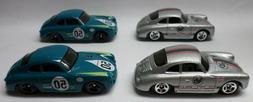 Hot Wheels Lot of 4 Porsche 356A Outlaw: 2 Magnus Walker 2 G