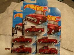 "HOT WHEELS LOT OF 5 CUSTOM '56 FORD TRUCK KROGER ""KENDRE'S S"
