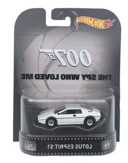 "Lotus Esprit S1 James Bond 007 ""Spy Who Loved Me"" Hot Wheels"