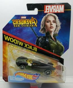 Hot Wheels MARVEL Avengers Infinity War Black Widow Car - Sh