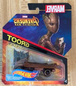 Hot Wheels Marvel Avengers Infinity War GROOT