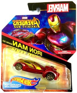 HOT WHEELS MARVEL AVENGERS INFINITY WAR  IRON MAN MARK 50 MA