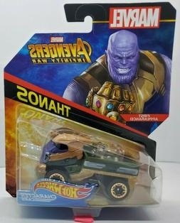 Hot Wheels MARVEL Avengers Infinity War Thanos Car - Shipped