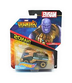 Hot Wheels Marvel Character Car Thanos  Die-Cast Vehicle