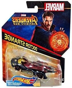 Hot Wheels Marvel Character Car Doctor Strange  Die-Cast Veh