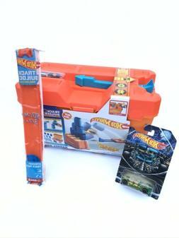 Mattel Hot Wheels Track Builder System Stunt Barrel Box Cars