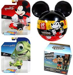 Mike Character Car Pack Mickey Mouse & Monsters Inc. Hot Whe