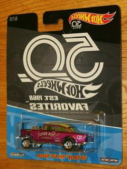 MINT Real Riders Hot Wheels 50th Anniversary Favorites '55 C