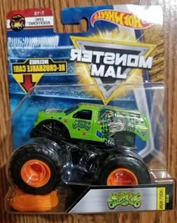 Monster Car Toys, Pull Back Trucks Toys 4WD Off-Road Vehicle