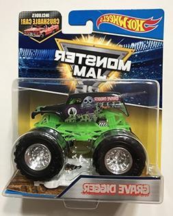 Hot Wheels Monster Jam 2017 25th Anniversary Grave Digger  1