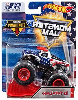 Hot Wheels Monster Jam 2018 Stars and Stripes El Toro Loco 1