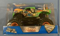 Hot Wheels Monster Jam Bad News Travels Fast 1:24 Scale Diec