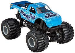 Hot Wheels Monster Jam Blue Thunder Die-Cast Vehicle, 1:24 S