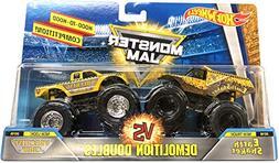 Hot Wheels Monster Jam Demolition Doubles Earth Shaker Vs. W