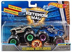 Hot Wheels Monster Jam Demolition Doubles OverKill Evolution