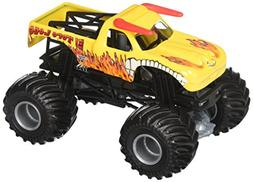 Hot Wheels Monster Jam El Toro Loco - Yellow Truck