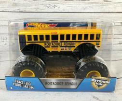 Hot Wheels Monster Jam Higher Education School Bus Metal Die