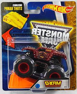 Hot Wheels Monster Jam Max D Maximum Destruction Red 2016 Ne