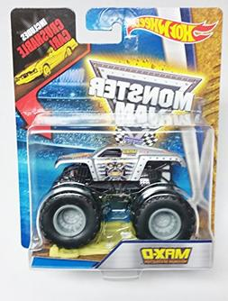 Hot Wheels Monster Jam Max-D Maxiumum Destruction 1:64 with