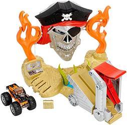 Hot Wheels Monster Jam Pirate Takedown Playset