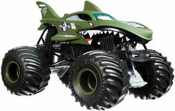 Hot Wheels Monster Jam Shark Shock Die-Cast Vehicle 1:24 Sca
