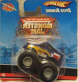 Hot Wheels Monster Jam Speed Demons King Krunch Mini Pull Ba