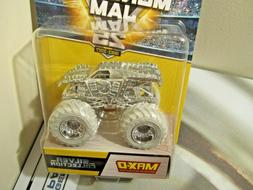 Hot Wheels Monster Jam Truck 1:64 Silver Collection 25 Year