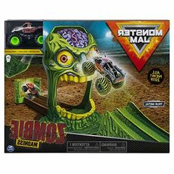 Monster Truck Zombie Madness Playset Featuring Exclusive Die